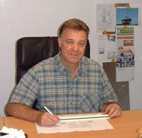 Dachdeckermeister Dieter Sailer