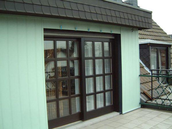 Dachdecker & Klempner Hennef - Allwetterpaneele - Fassadenverkleidung für Fachwerk