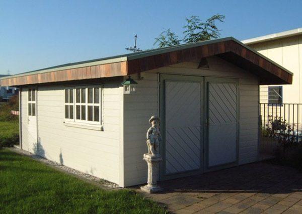 Dachdecker & Klempner Hennef - Allwetterpaneele - Fassade für Gartenhaus