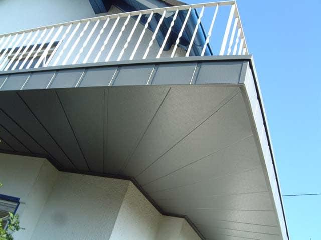 Balkonverkleidung Balkon Dachdecker Sailer