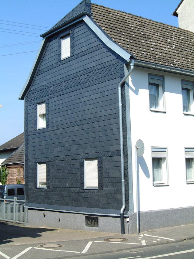 Dachdecker & Klempner Hennef - Schiefer - Fassadengestaltung