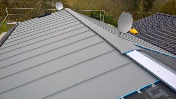 Doppelstehfalz - Metalldach - Dachdecker - Klempner - Hennef - Bedachungen