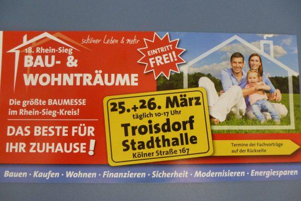 Messe - Troisdorf - Allwetter-Paneele - verwittertes Holz - Bedachungen Sailer Hennef